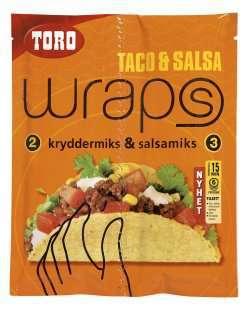 Prøv også Toro wraps taco & salsa.