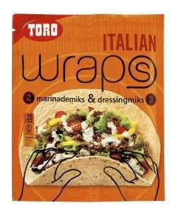 Prøv også Toro wraps italian.