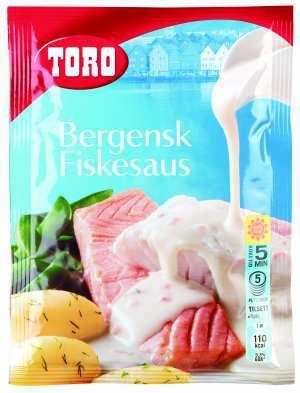Prøv også Toro bergensk fiskesaus.