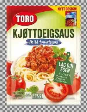 Prøv også Toro kjøttdeigsaus tilberedt.