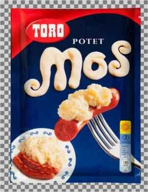 Prøv også Toro potetmos tørr.