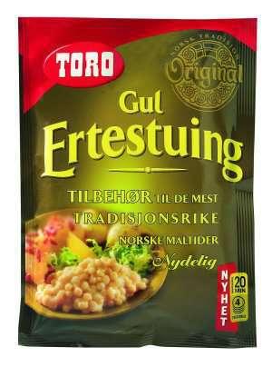 Prøv også Toro gul ertestuing.