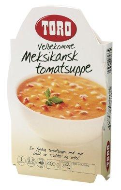 Prøv også Toro velbekomme meksikansk tomatsuppe.
