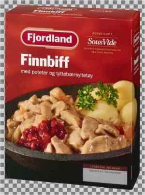 Prøv også Fjordland Finnbiff med poteter og tyttebær.