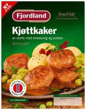 Prøv også Fjordland Kjøttkaker med ertestuing og poteter.