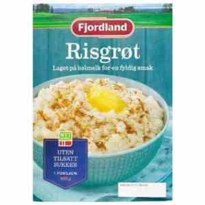 Prøv også Fjordland Risgrøt.