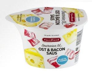 Prøv også Fjordland ost og baconsaus.