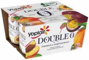 Prøv også Yoplait Dobbel 0% fersken/pasjonsfrukt.