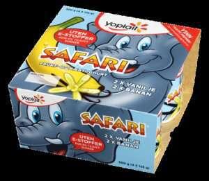Bilde av Yoplait Safari Elefantyoghurt 4x125g.