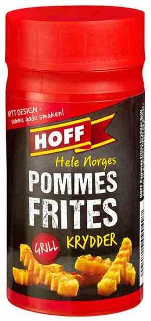 Prøv også Hoff Pommes Frites-/Grillkrydder.