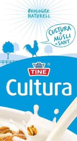 Prøv også Tine Cultura, syrnet melk, naturell, økologisk.