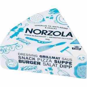 Prøv også Tine Norzola, ost.