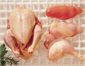 Prøv også Kylling, hel, kjøtt uten skinn, rå.