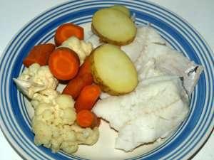 Prøv også Torsk lettsaltet, kokt.