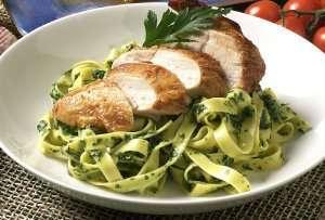 Prøv også Pasta grønn, fersk, kokt.