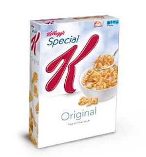 Prøv også Frokostkorn, ristet hvete og ris, type Spesial K.