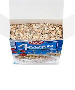 Prøv også Kornblanding, 4-korn.