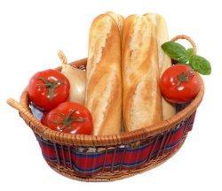 Prøv også Baguette fin, halvstekt type, stekt.
