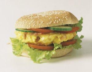 Prøv også Hamburgerbrød, fint.