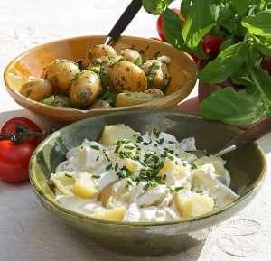 Prøv også Potetsalat, med ekte majones.