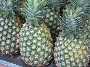 Prøv også Ananas, rå.