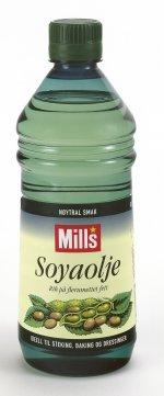 Prøv også Soyaolje.
