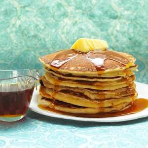 Prøv også Pannekaker, med lettmelk, stekt i myk margarin.