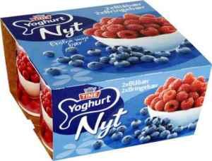 Prøv også Tine Yoghurt Nyt Blåbær.