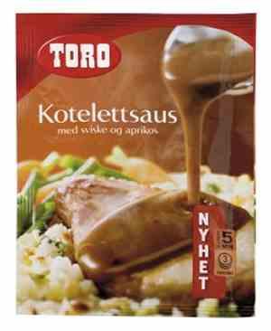 Prøv også Toro kotelettsaus med sviske og aprikos.