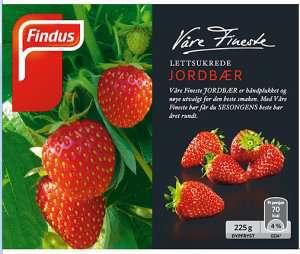 Prøv også Findus Jordbær.