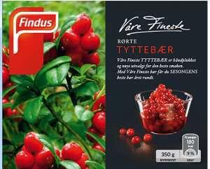 Prøv også Findus Rørte Tyttebær.