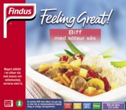 Prøv også Findus Beef Sweet & Sour.