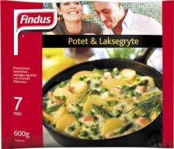 Prøv også Findus Potet og Laksegryte.