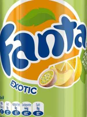 Prøv også Fanta Exotic.