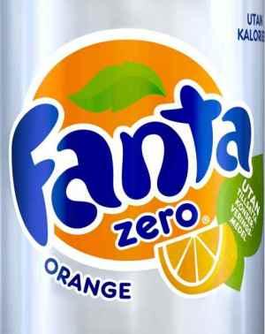 Prøv også Fanta Zero Orange.