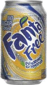 Prøv også Fanta Free Pineapple Grapefruit.