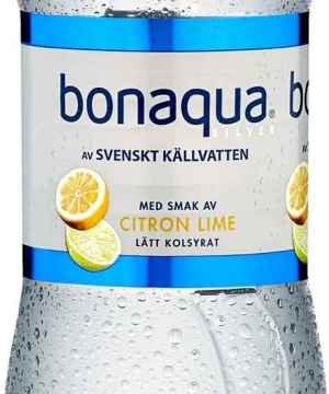 Prøv også Bonaqua sitron med kullsyre.