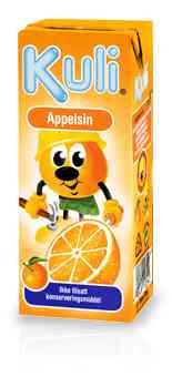 Prøv også Kuli Appelsin.