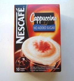 Prøv også Nescafe Cappucino.