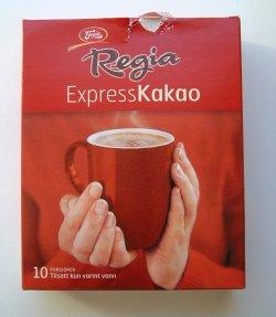 Prøv også Regia Express Kakao.
