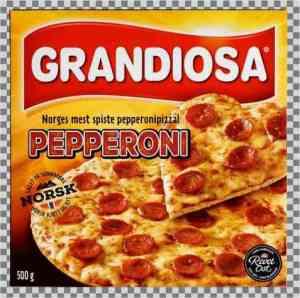 Prøv også Grandiosa Pepperoni.