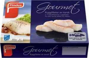 Prøv også Findus Torsk Gourmet.