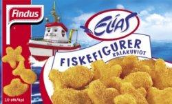 Prøv også Findus Elias Fiskefigurer.