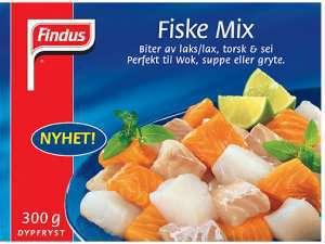 Prøv også Findus Fiske Mix.