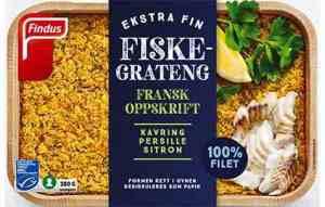 Prøv også Findus Fransk Fiskegrateng.