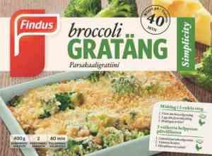 Prøv også Findus Broccoli Grateng.