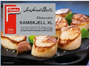 Prøv også Seafood Deli Kamskjell.