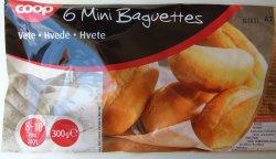 Prøv også Coop 6 Minibaguetter.