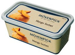 Prøv også Mövenpick mango.