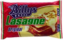 Prøv også Billys Lasagne Original.